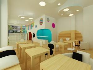 Cafe / Mokotów / 102 m²