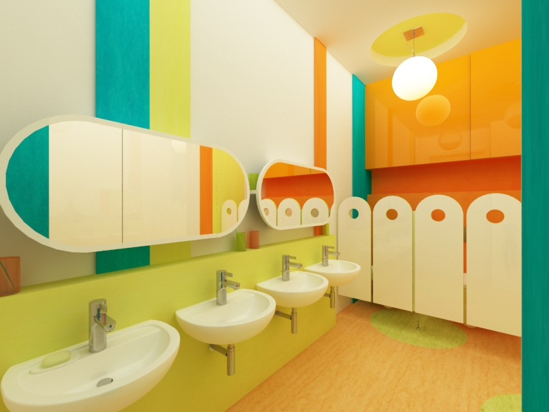 Kindergarten / Mokotów / 256 m²