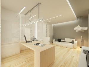 Gabinet / 15 m²