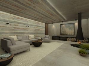 Dom w górach / 52 m²